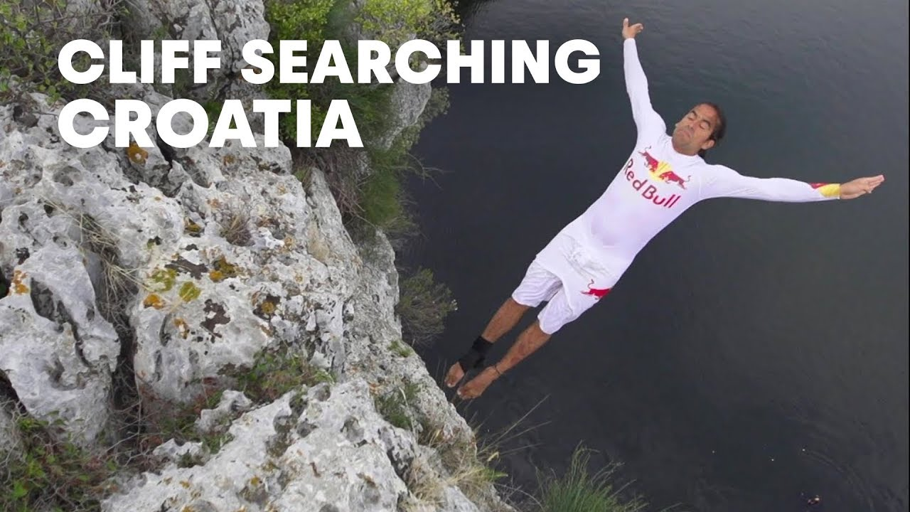 Cliff Searching in Croatia - Red Bull Cliff Diving 2012