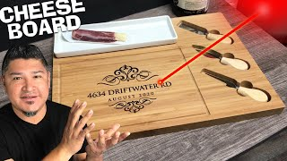 Personalized Cheese Board Custom Engraved for Etsy