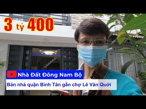 Video nhà bán quận Bình Tân, hẻm 4m Đất Mới, Bình Trị Đông, Bình Tân
