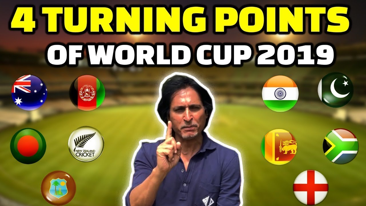 4 Turning Points Of World Cup 2019 | Ramiz Speaks