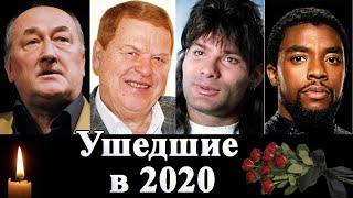 Знаменитости ушедшие в 2020. Клюев, Коби Брайант, Чедвик Боузман и др.