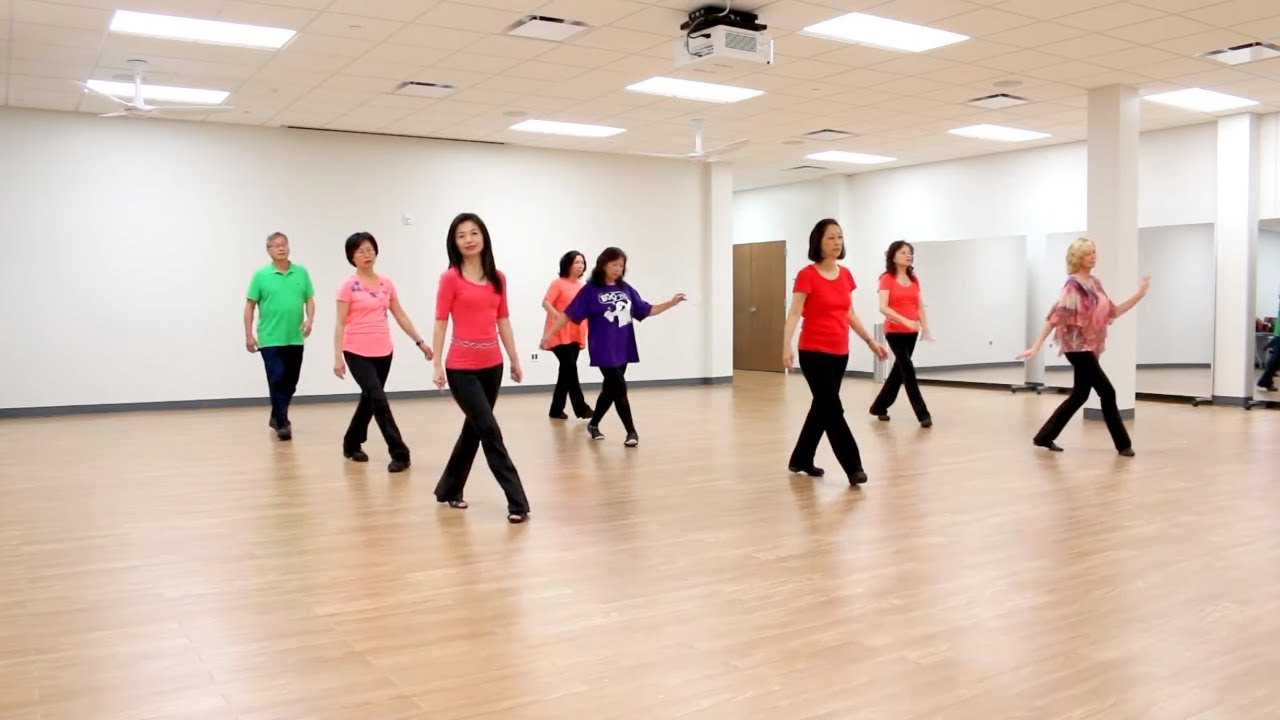 Lay Here With Me - Line Dance (Dance & Teach in English & 中文) - YouTube