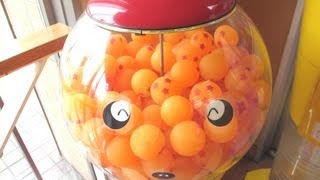 ドラゴンボール ガチャガチャ DRAGON BALL Bouncy Balls toy vending machine