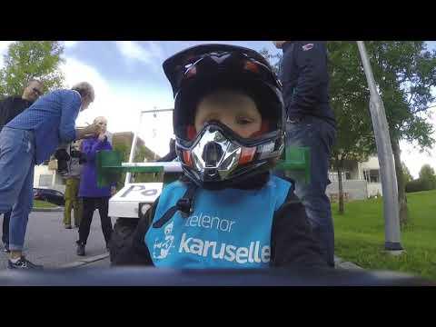 Yngste deltaker og vinner av Publikumsprisen i Hakadal Grand Prix 2017