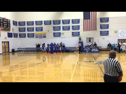 TPLS Christian Academy vs Williamsburg Christian Academy (1st half)