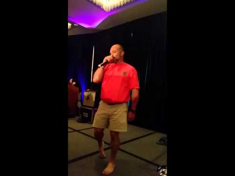 TVD Dallas Convention -Karaoke-ice Ice Baby