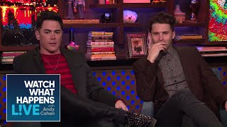 Are The Toms In Touch With Mike Shay? | Vanderpump Rules | WWHL