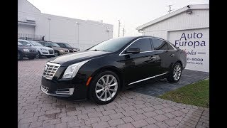 This 2013 Cadillac XTS Premium is a much better car than it gets credit for