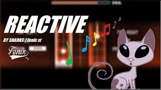 OMG ¡ GATOOOS ! Reactive - by sharks / geometry dash 2.1
