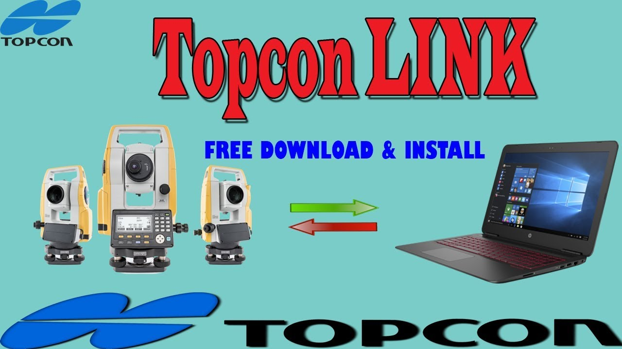 Topcon tcom software free download.