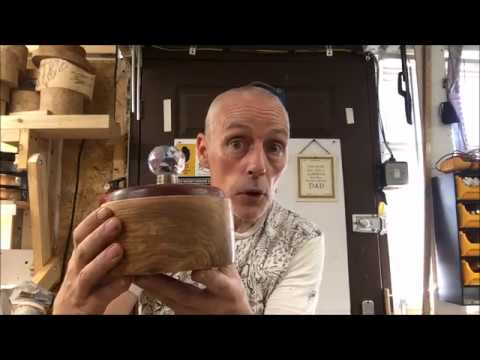 how i made this jewellry box on the lathe for my daughter
