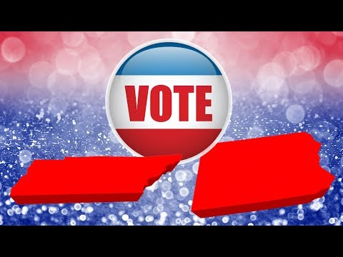 Pennsylvania And Tennessee: Vote TODAY!