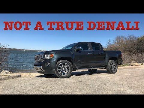 Great Truck. Terrible Denali!---2018 GMC Canyon Denali Diesel 4x4 Review