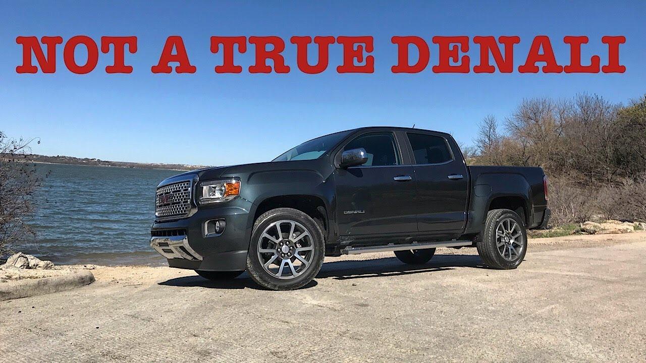 A 50 000 Quarter Ton Truck 2018 Gmc Canyon Denali Diesel Review