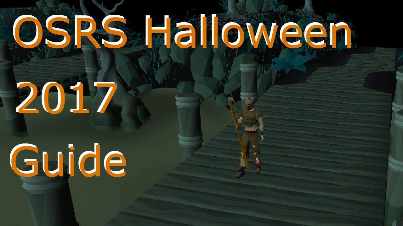 Oldschool Runescape Halloween Event Guide 2017 - YouTube