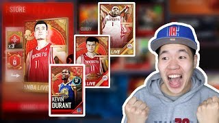Nba Live Mobile 18 Lunar New Year Promo - 3 New 93 Ovr Masters