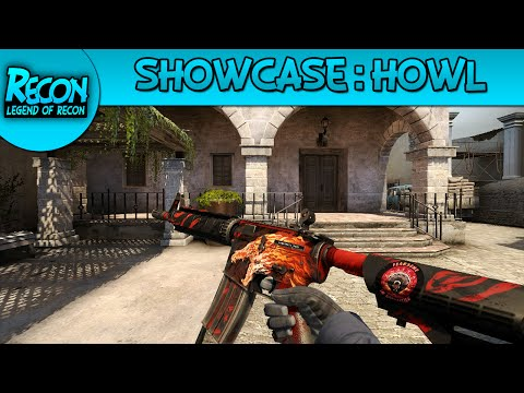 Showcase: M4A4 Howl FT - CS:GO!