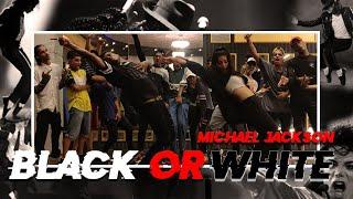 Michael Jackson - black or white   Alex Badad choreography   dance class video