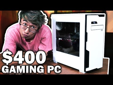 $400 Budget Gaming PC Build - Back To School Guide