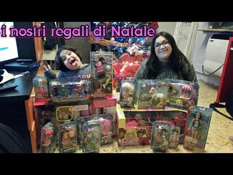I nostri regali di Natale - buon natale a tutti da barbie my life