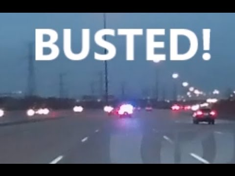 Busted on 407 - Toronto, Ontario