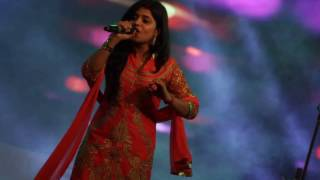 Dangal Title Song Performed Live by Sargam Mishra.