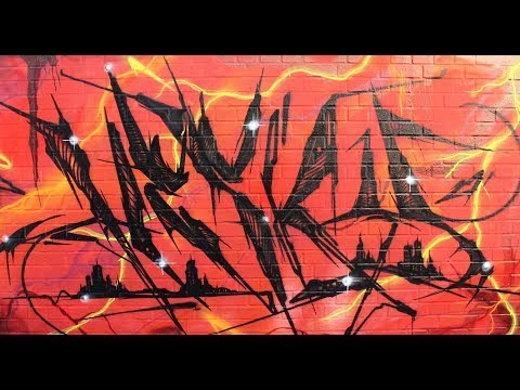 Wall of Fame Graffiti by Hesky One Leipzig  2018