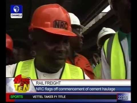 Rail Freight:NRC flags off commencement of cement haulage