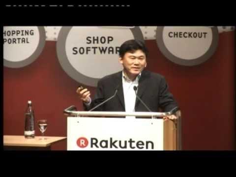 """Rakuten Live! 12 - """"Strategien und Entwicklungen"""" Hiroshi Mikitani"""