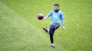 Lionel Messi  Skills Tricks Freestyle in Training