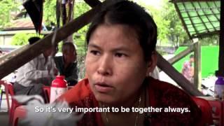 Myanmar: Market brings community together