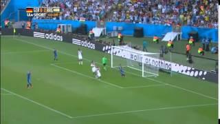 Germany 1 - 0 Argentina Final Full Highlights ( '22 ET - Mario Gotze ) 13 - 07 - 2014