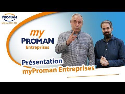 myProman Entreprises - Recrutez vos intérimaires en un clic - PROMAN
