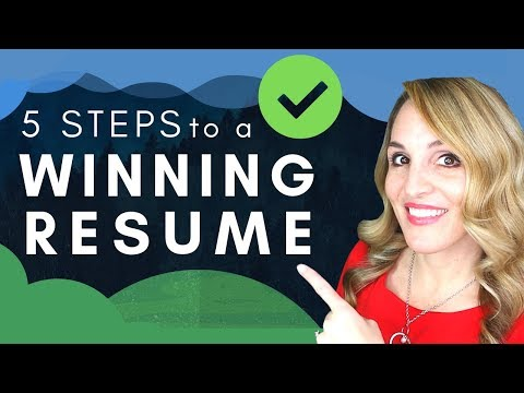 How To Write A GOOD Resume In 2019 - Resume Example Template