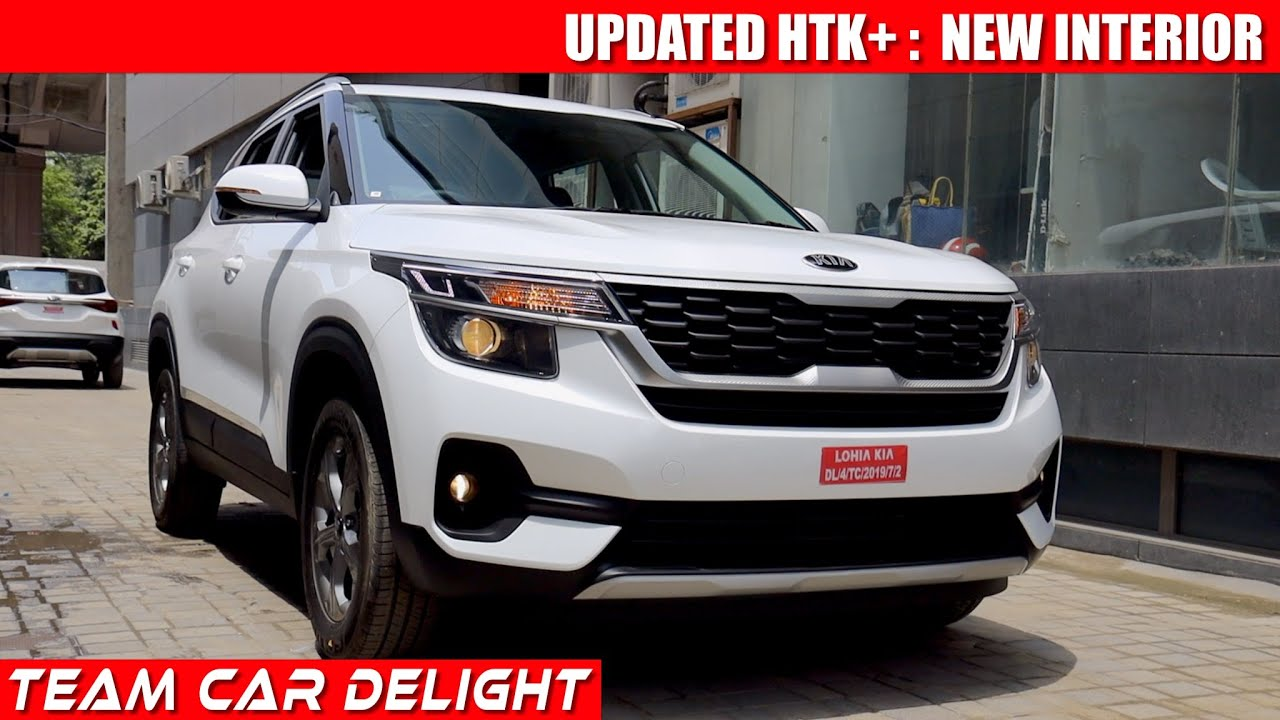 Kia Seltos Htk Plus 2020 Detailed Review With On Road Price Seltos 2020 Petrol Diesel At Youtube