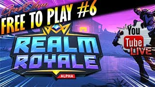 🔴FREE TO PLAY #6 [PC] : Realm Royale - Paladins VS Fortnite (By Hi-Rez Studio)