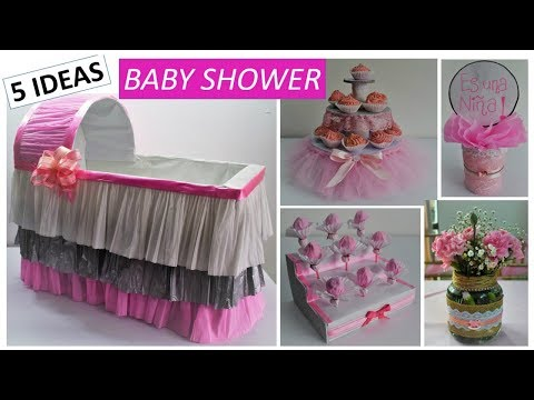 Cuna Para Regalos De Baby Shower Nino.5 Ideas Faciles Y Economicas Baby Shower Nina Cuna De