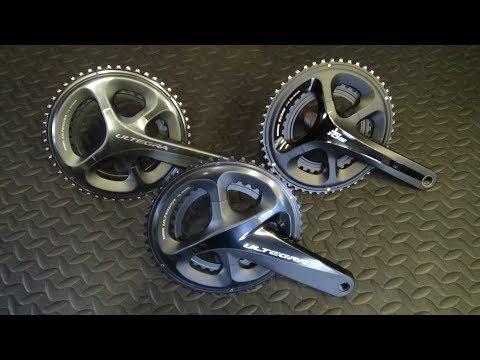 Shimano Ultegra R8000 Chainset vs 6800 & 5800