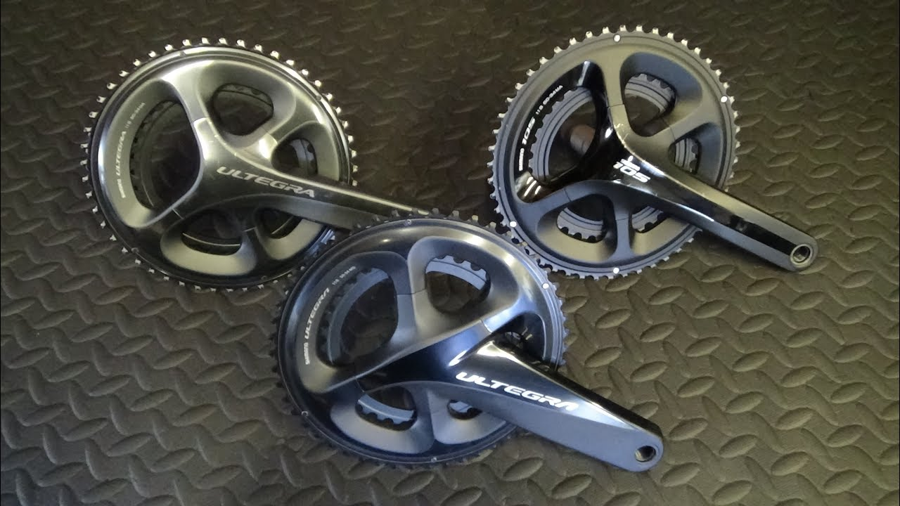 193d8805555 Shimano Ultegra R8000 Chainset vs 6800 & 5800 - YouTube