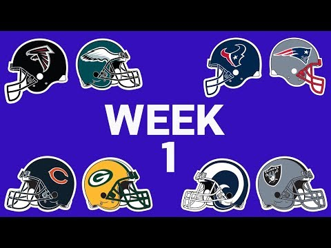 Week 1 Full Preview | NFL Network
