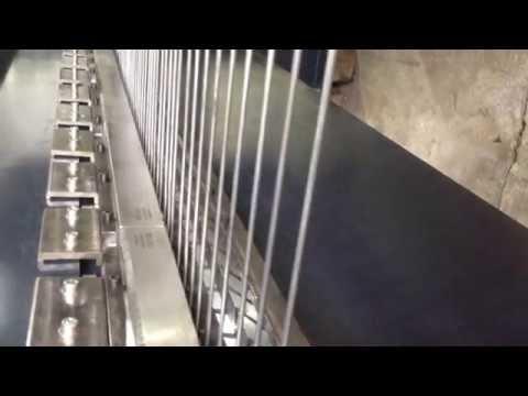 Производство секций ограждений из сварной сетки