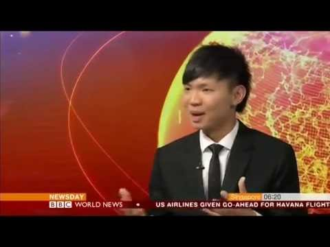 BBC World News Interviews Toastmasters 2016 World Champion of Public Speaking Darren Tay
