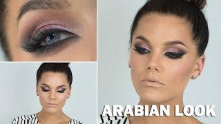 Arabian Look (with subs) - Linda Hallberg Makeup Tutorials