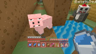Minecraft Xbox - Quest For A Pig Trench (49)