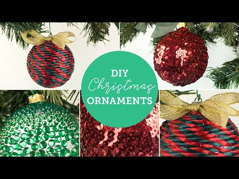 Easy DIY Christmas Ornaments 🎄 | BalsaCircle.com