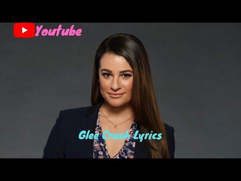 Glee Crush Lyrics video