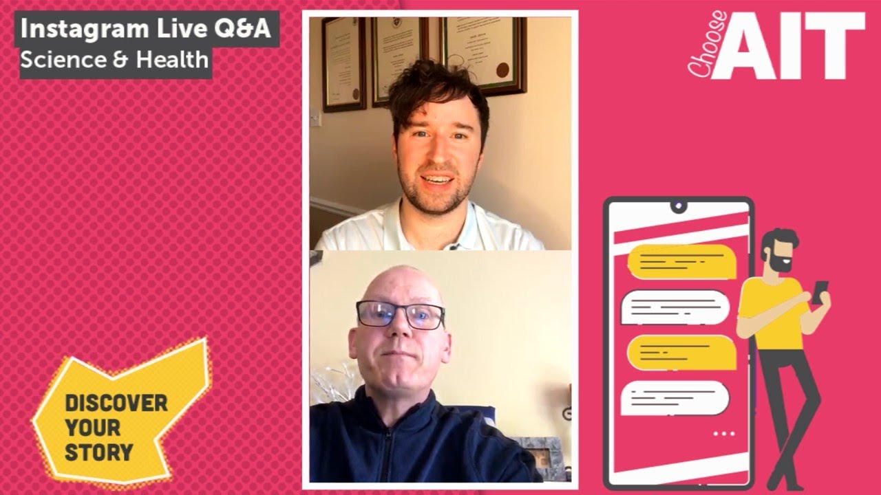 Instagram Live CAO Q&A | Science & Health
