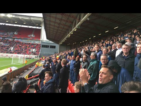 BRISTOL CITY VS LEEDS UNITED MATCH DAY EXPERIENCE - UNBELIEVABLE SCENES!!!