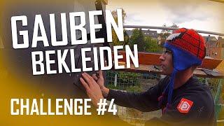 Dachdecker / Challenge #4 Gaubenwange mit FZ-Platten bekleiden / Wer ist schneller?