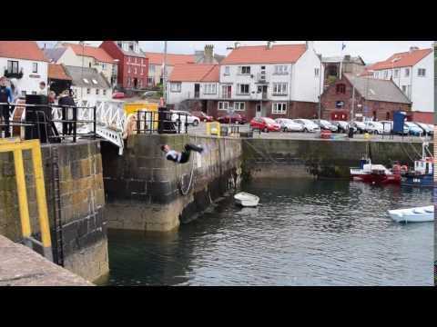 Dunbar Harbour Jumping II